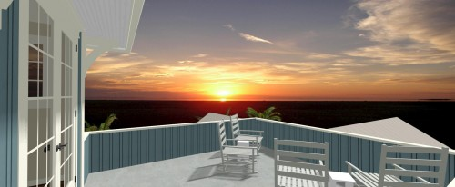 Rear Ext. Render 13 - Gulfside Rd LBK