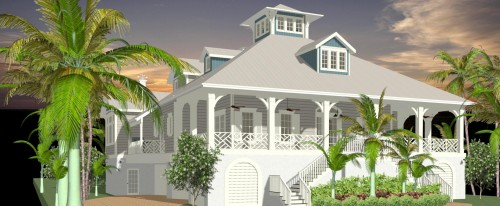 Rear Ext. Render 19 - Gulfside Rd LBK
