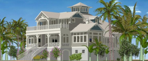 Rear Ext. Render 7 - Gulfside Rd LBK